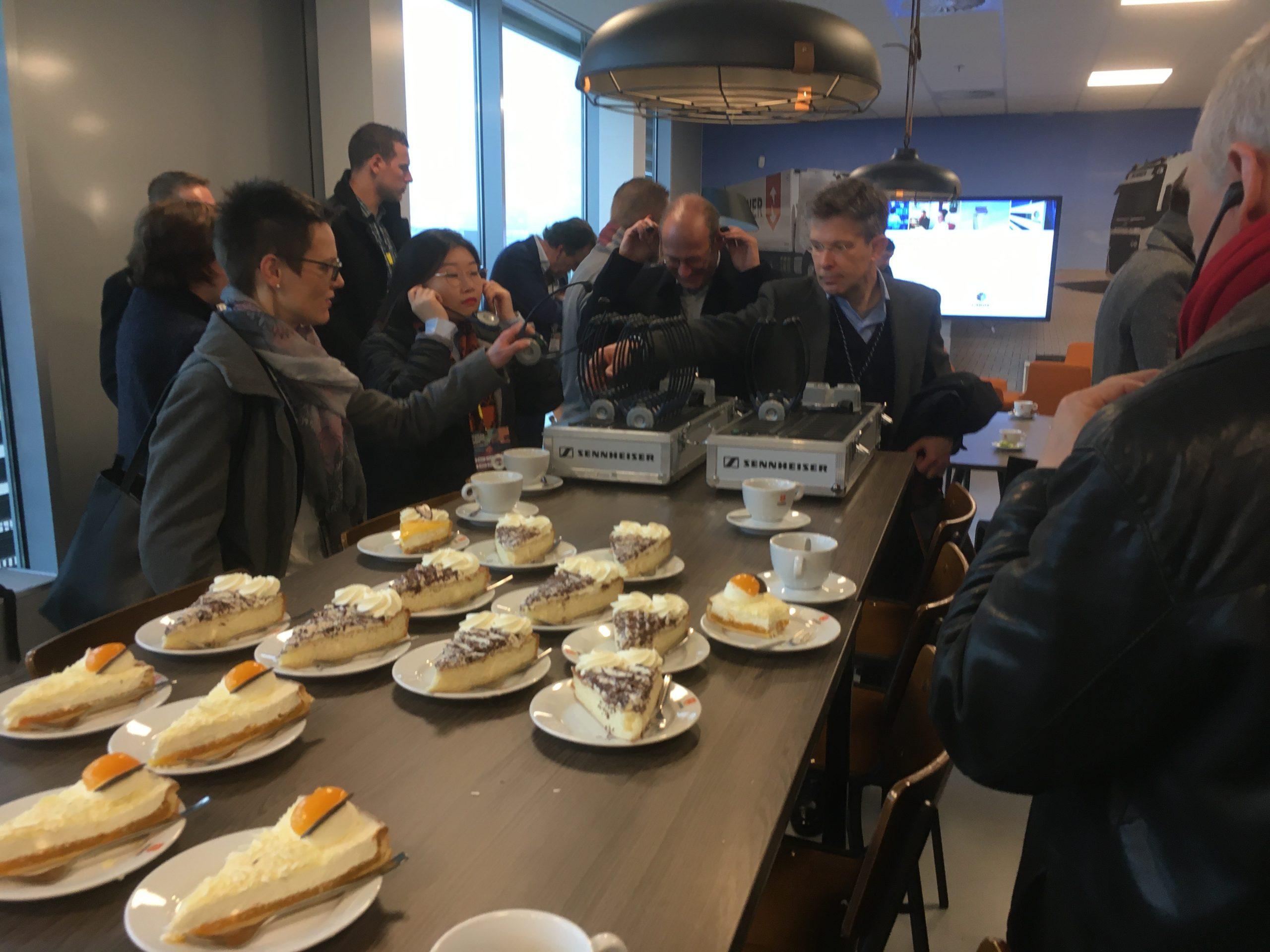 cakes at Nunner Logistics