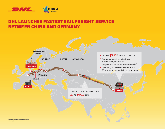 Road Map Of Germany 2017.New Record On China Germany Railway Link 10 12 Days