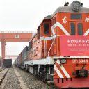 Xi'an - Sławków container train, source: Mateusz Dawidowski