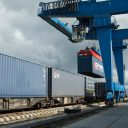 Intermodal terminal in Kaliningrad Region, source: Russian Railways (RZD)