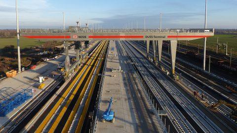 MegaHub Lehrte intermodal terminal