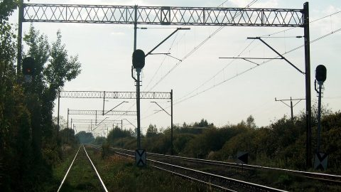 Dorohusk - Zawadówka broad gauge railway in Poland, source: Adrian Karwał