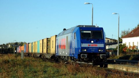 Lotos Kolej container train, source: Petr Štefek