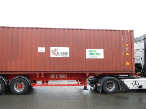 RailBridgeCargo shipment