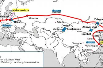 Suzhou-Duisburg link