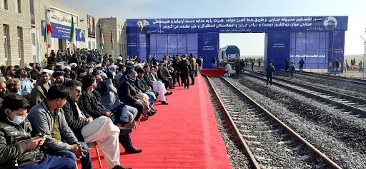 Iran-Afghanistan Railway opening